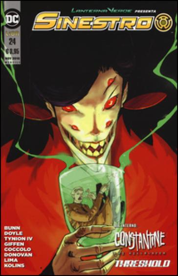 Lanterna verde presenta: Sinestro. 24. - S. Formiconi |