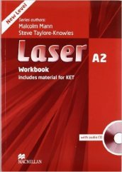 Laser A2. Workbook. No key. Con e-book. Con espansione online. Per le Scuole superiori. Con CD-ROM