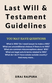 Last Will & Testament Guidelines