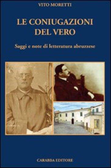 Le coniugazioni del vero - Vito Moretti pdf epub