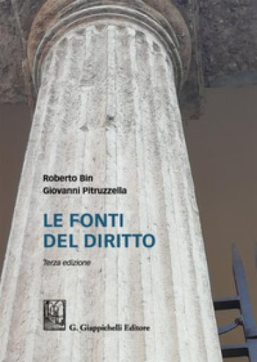 Le fonti del diritto - Roberto Bin pdf epub