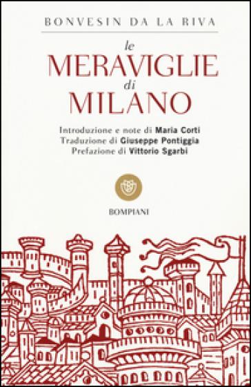 Le meraviglie di Milano - Bonvesin de la Riva pdf epub