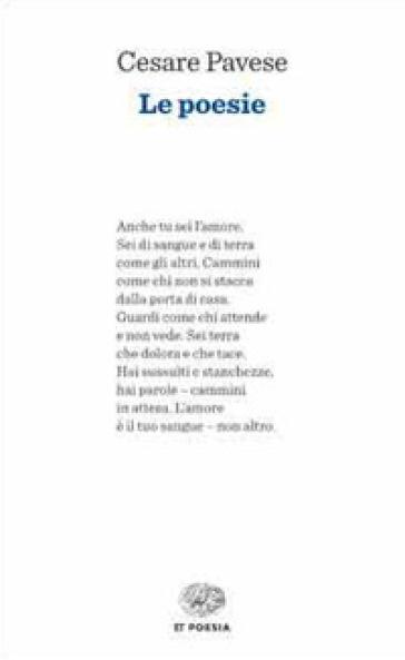 Le poesie - Cesare Pavese |
