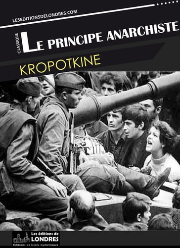 Le principe anarchiste
