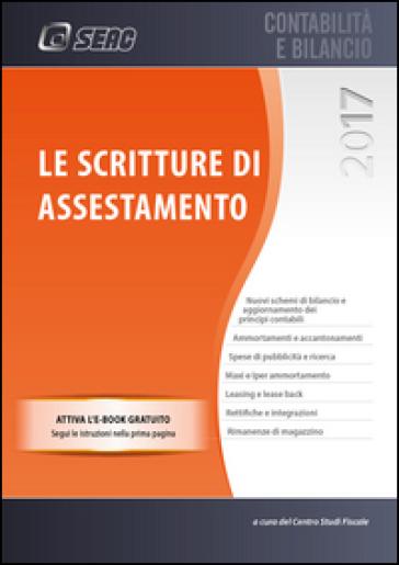 Le scritture di assestamento - Centro Studi Fiscali Seac |
