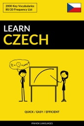 Learn Czech: Quick / Easy / Efficient: 2000 Key Vocabularies