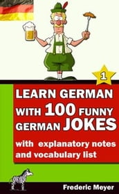 Learn German with 100 funny German Jokes