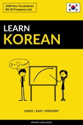 Learn Korean: Quick / Easy / Efficient: 2000 Key Vocabularies