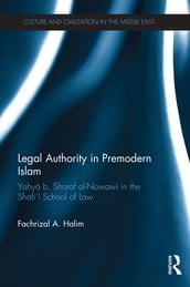 Legal Authority in Premodern Islam