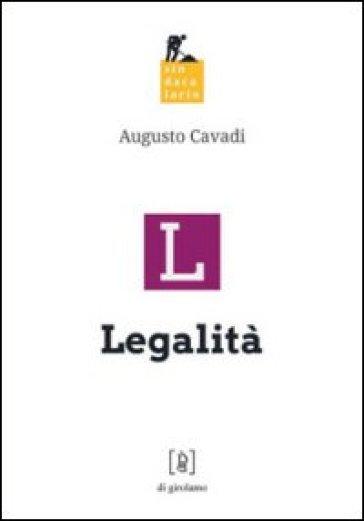 Legalità - Augusto Cavadi |