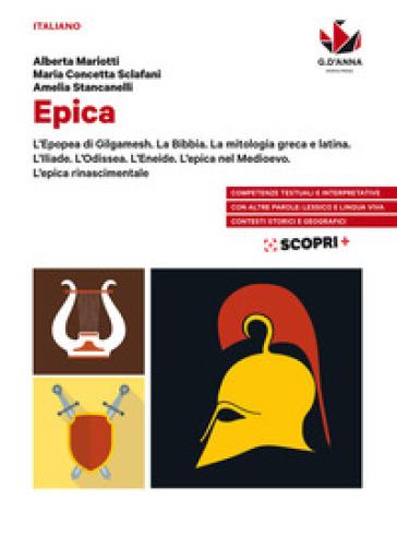 Leggere a colori. Epica. Per il biennio delle Scuole superiori. Con e-book. Con espansione online - Alberta Mariotti |