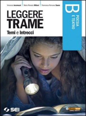 Leggere trame. Temi e intrecci. Vol B: Poesia e teatro. Per il biennio delle Scuole superiori - Vincenzo Jacomuzzi |