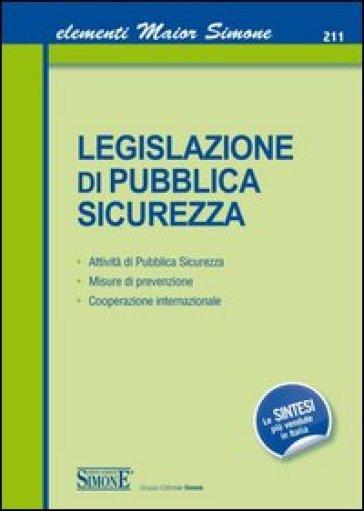 Legislazione di pubblica sicurezza