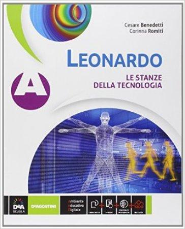 Leonardo. Vol. A-B-C. Con tavole. Per la Scuola media. Con e-book. Con espansione online - Cesare A. Benedetti  