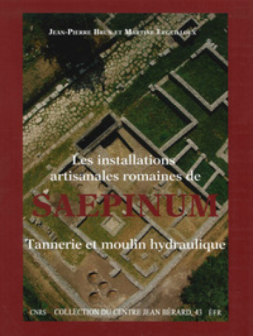 Les installations artisanales romaines de Saepinum. Tannerie et moulin hydraulique - Jean Pierre Brunet Martine Leguilloux |