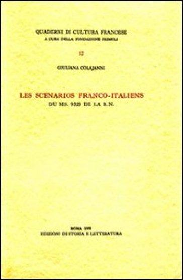 Les scénarios franco-italiens du ms. 9329 de la B. N. - Giuliana Colajanni   Ericsfund.org