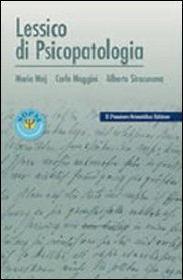 Lessico di psicopatologia - Mario Maj | Jonathanterrington.com