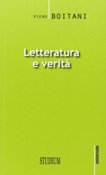 Letteratura e verità - Piero Boitani   Kritjur.org