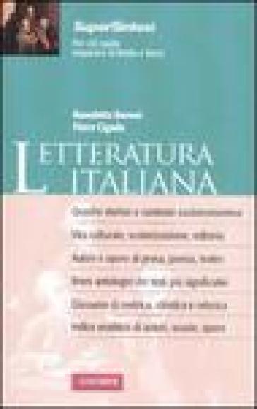 Letteratura italiana - Piero Cigada |