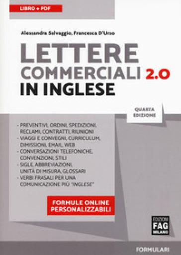 Lettere commerciali 2.0 in inglese. Con Contenuto digitale per download - Alessandra Salvaggio | Thecosgala.com