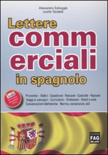 Lettere commerciali in spagnolo - Lorella Tabolotti |