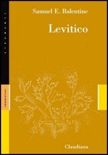 Levitico - Samuel E. Balentine |