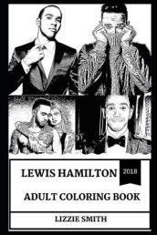 Lewis Hamilton Adult Coloring Book