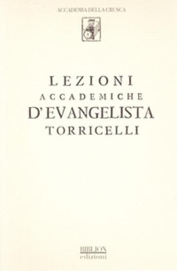 Lezioni accademiche d'Evangelista Torricelli - Evangelista Torricelli | Ericsfund.org