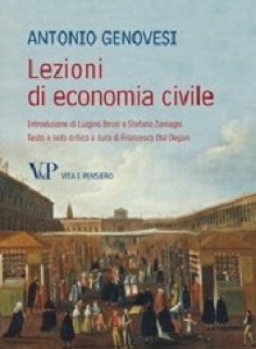 Lezioni di economia civile - Antonio Genovesi |