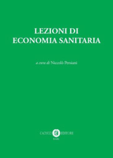 Lezioni di economia sanitaria - N. Persiani  