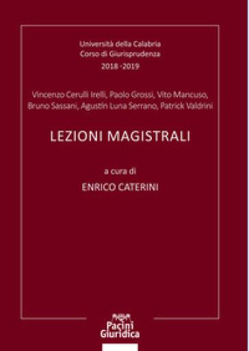 Lezioni magistrali - Enrico Caterini | Rochesterscifianimecon.com