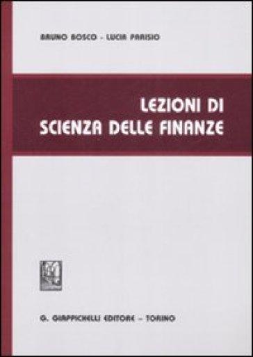 Lezioni di scienza delle finanze - Lucia Parisio pdf epub