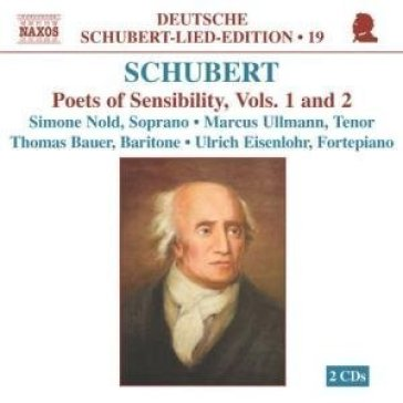 Lieder - poets of sensibility, voll.1 e