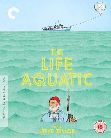 Life Aquatic With Steve Zissou The (Criterion Collection) [Edizione: Regno Unito]