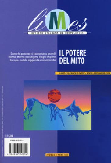 Limes. Rivista italiana di geopolitica (2020). 2: Il potere del mito