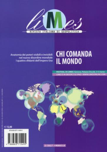 Limes. Rivista italiana di geopolitica (2017). 2: Chi comanda il mondo