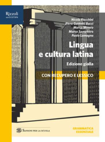 Lingua e cultura latina. Percorsi 1+repertori lessicali+lessico+grammatica+traduzioni. Ediz. gialla. Per le Scuole superiori. Con e-book. Con espansione online. 1.