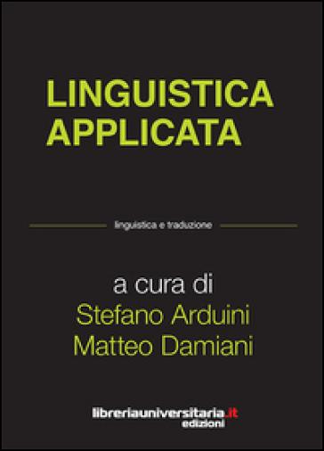 Linguistica applicata - Stefano Arduini |