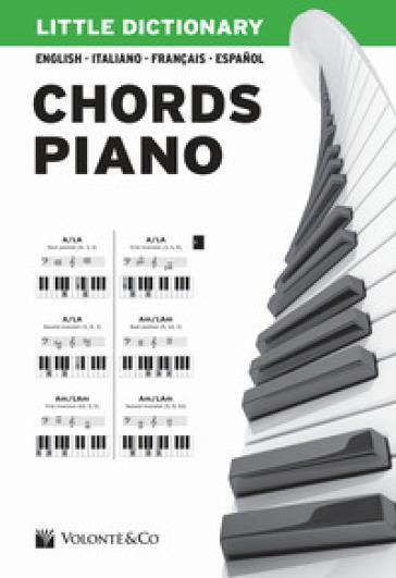 Little dictionary. Chords piano. Ediz. illustrata - Pierangelo Valentini |
