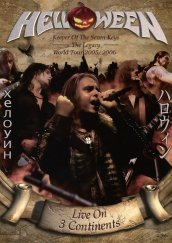 Live on 3 continents (2dvd+2cd digipack)