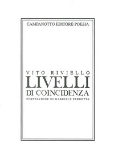 Livelli di coincidenza - Vito Riviello pdf epub