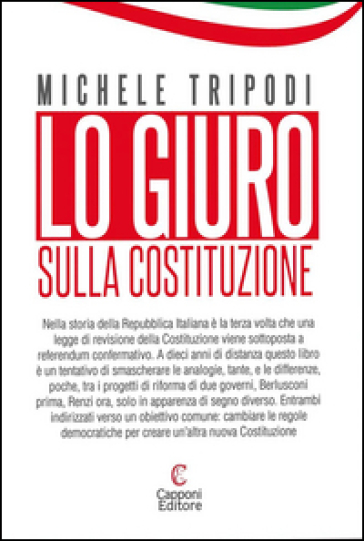 Lo giuro. Sulla Costituzione - Michele Tripodi   Kritjur.org