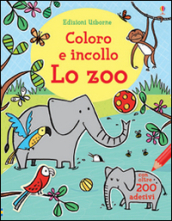 Lo zoo. Coloro e incollo