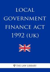 Local Government Finance ACT 1992
