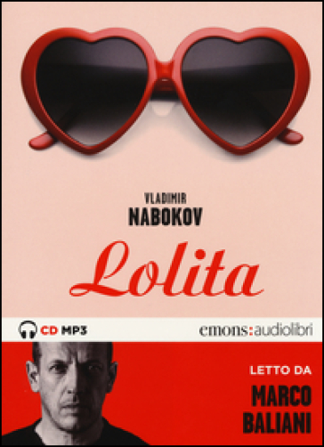 Lolita letto da Marco Baliani. Audiolibro. CD Audio formato MP3