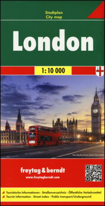 Londres-Londra-Londres 1:10.000