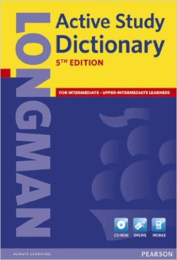 Longman active study dictionary.  Con CD-ROM