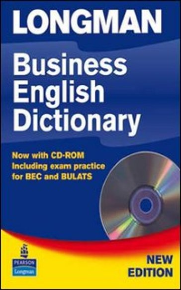 Longman business english dictionary. Con CD-ROM