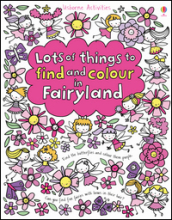 Lots of things to find and colour in Fairyland