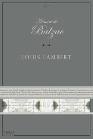 Louis Lambert - Honoré de Balzac | Kritjur.org
